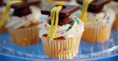 Tassel Cupcakes at Heres the items youll need shop below or visit one of our stores Cupcakes Cake mix baking cups and muffin pans Vanilla Frosting Sprinkles optional. Vanilla Frosting, Chocolate Frosting, Chocolate Bars, Chocolate Sprinkles, Chocolate Squares, Cupcake Recipes, Cupcake Cakes, Fun Recipes, Cupcake Ideas