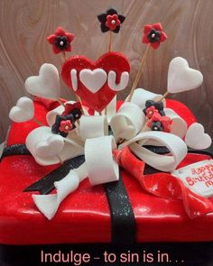 Homemade Valentine's Day Cake by Indulge – To Sin Is In, Mumbai