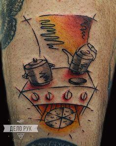 ДЕЛО РУК Мастер студии Антон.Икра, 1,5 часа. 4 000. #inkbe, #tattoo, #watercolor, #linework, #abstract, #tattooideas, #sketch