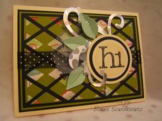 2013-03-19 (1) by bonnie32002  Cricut Wild Card - Argyle background along with assorted die cuts