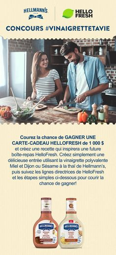 Concours #VinaigretteTaVie Grand Prix