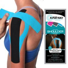 Kinesio Tape Precut Shoulder Tape #ShoulderTape