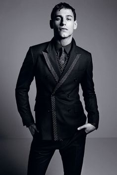 Dolce & Gabbana Fall/Winter 2014 Mens Look Book image Dolce and Gabbana Fall Winter 2014 Men Look Book Model Images 005