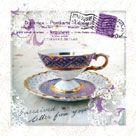 Morning Tea III by Ingrid Van Den Brand