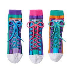 Girls 4-9 Little Miss Matched 3-pk. Colorblock Sneaker Anklet Socks, Girl's, Multicolor