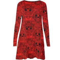"""Autumn Dusk"" Skull Dress"