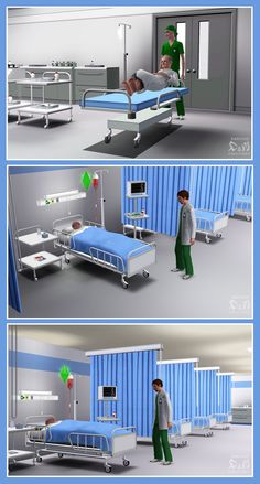 Mod The Sims - Request: Hospital Set
