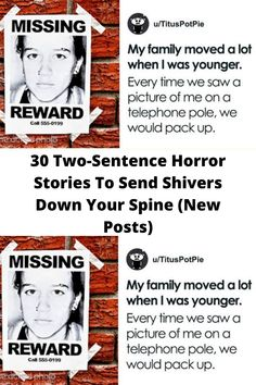 30 Two-#Sentence Horror Stories To #Send Shivers Down Your #Spine (New Posts)