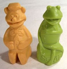 I used to have these! Muppet show soaps! I can smell them ;-)