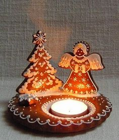 Let these sweet snacks decorate your Christmas table, ant it will be very popular! Christmas Desserts, Christmas Treats, Christmas Baking, Christmas Time, Christmas Decorations, Galletas Cookies, Gingerbread Cookies, Christmas Cookies, Christmas Gingerbread House