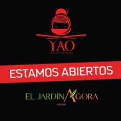 ¡Ya estamos abiertos en El Jardín Ágora Mall! #VenParaYAO Movie Posters, Film Poster, Billboard, Film Posters