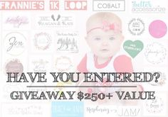 Have you entered?!  Weve teamed up with great shops and reps to bring you a winner takes all giveaway of over $250 in gifts. You dont want to miss out on this!  See our previous post with this image to learn how to enter its easy!