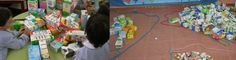 """""""LA CONSTRUCCIÓN DE UN MERCADO MEDIEVAL"""" ¿Cómo se aprenden matemáticas a los 3 años? Un proyecto en el que niños, maestros y en colaboración de sus familias, construimos un mercado medieval."""
