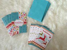 10 Weihnachtskarten Advent Weihnachten Karten Incl. Briefumschlag Umschlag Fest   eBay