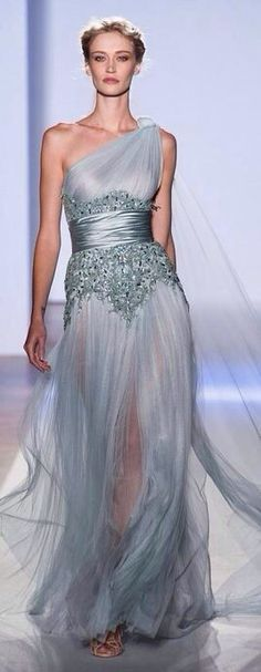 Light & Pale Blue Gown