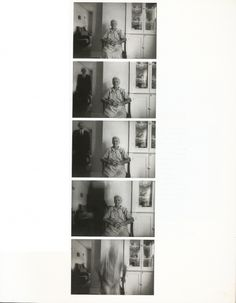 Duane Michals: this photo sequence uses shutter speed to give the man in black an eerie aura as he is to symbolize death. Sequence Photography, Duane Michals, Photo Sequence, Ghost Sightings, Narrative Photography, Ghost Hauntings, Ghost Pictures, Ghost Pics, Creepy Stories