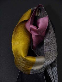 Laura Thomas Woven Textiles: warp+weft, Oriel Myrddin Gallery, Carmarthen
