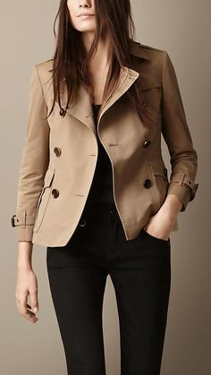 Burberry Brit Tailored Trench Jacket