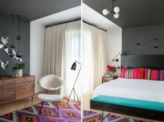 Colorful-Rug-JHID-Bedroom-kilim