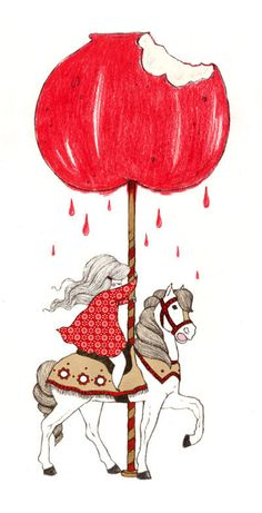candy apple carousel