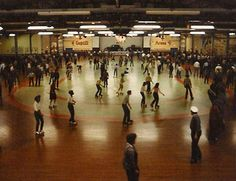 Remember when this was the highlight of the entire week. Skating was THE social gathering when I was in junior high.