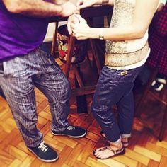 #Cofimakers e Cofis namorando no pré-feriado!  #cofiwear #calçaxadrez #happyhour #calçaxadrez #stylemen
