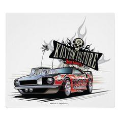Kustom Kulture Hot Wheels Poster