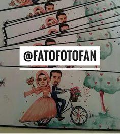 FatoFotofan: Karikatürlü Nişan davetiyesi