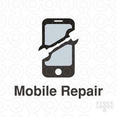 Exclusive Customizable Logo For Sale: mobile repair | StockLogos.com