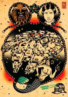 Star Wars tatoo