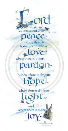 Lord Peace Art Print by Judy Dodds. All prints are professionally printed, packaged, and shipped within 3 - 4 business days. Choose from multiple sizes and hundreds of frame and mat options. Scripture Art, Bible Art, Bible Quotes, Bible Verses, Scriptures, Calligraphy Quotes, Calligraphy Letters, Peace Art, Creative Lettering