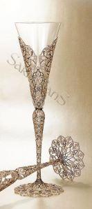 Createur de Classe Magazine World's most expensive Champagne glass. World's most expensive Champagne glass. by Createur de Classe Magazine