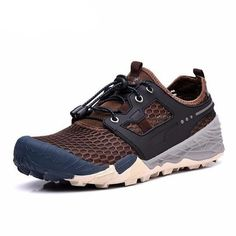 68ea779a8af new hiking shoes outdoor sneakers scarpe trekking uomo climbing non-slip  outventure shoes summer breathable mesh camping sport