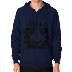 Wildsiders Signature Zip Hoodie (on man)