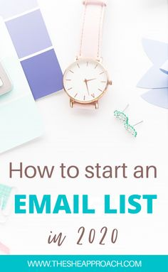 Ready to start an email list for your blog or online business, but you're not sure how to? Or which email service provider you should choose? Here's a full review on the best email list software out there in 2020 so you can start getting subscribers today! Click over for email marketing tips for bloggers! #emailmarketing #emaillist