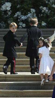 """Prince Louis on Twitter: """"George and Charlotte at the #RoyalWedding … """""""
