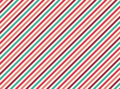 """candy stripes"" by vampirious Coral, Pink, Raspberry, Teal"