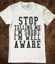 Even though im not short