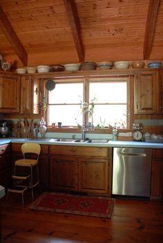 Hood Creek Log Cabin: Fall Decor in the Cabin