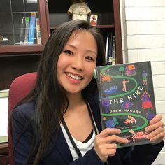 """What are you reading? Share on social media and tag #ReadersUnite! Librarian Iris says """"I am currently on an epic adventure with a man named Ben and a talking crab battling supernatural forces as we try to make our way back to his loving wife and kids in Drew Magarys The Hike."""" Want to read it too? Check it out from the library! #drewmagary #lacountylibrary #lacounty #library #reading @nypl #books"""