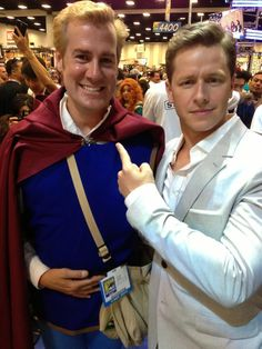 "Josh Dallas and ""Prince Charming"""