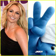 Britney Spears' new song 'Ooh La La' for the movie 'Smurfs 2'