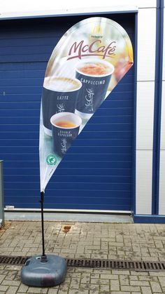 #Teardrop_Flag #Flag Double Espresso, Banner Printing, Surfboard, Water Bottle, Flag, Colours, Prints, Outdoor, Inspiration