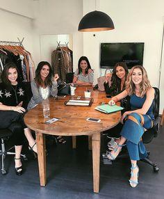 Reunião pré fashion week com as meninas do @fhits  #FHitsTeam
