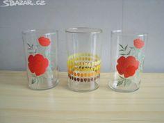 3ks retro skleniček - obrázek číslo 1