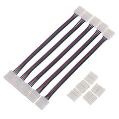New Arrival 5PCS  4Pin 10MM Female DIY PVC RGB LED PCB Strip Adapter For 5050 LED Lights   Tag a friend who would love this!   FREE Shipping Worldwide   Get it here ---> http://buy18eshop.com/new-arrival-5pcs-4pin-10mm-female-diy-pvc-rgb-led-pcb-strip-adapter-for-5050-led-lights/