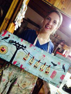 Hecho por María José Cristobal en el taller de Rosita  Perosa