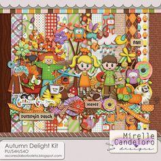 $6.99 Autumn Delight Kit by Mirelle Candeloro - PU/S4H/S4O ok