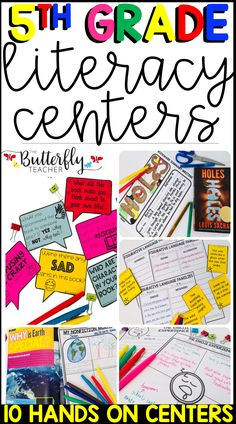 This resource has 10 engaging, hands-on learning stations for literacy, writing, reading, spelling, Greek/Latin root words with prefixes and suffices, figurative language, summarizing during reading, and more!  #wordworkstations #literacyrotations #smallgroupinstruction #spellingactivities #writingpractice #5thgradeliteracy #5thgradereading #centersforfifthgrade #fifthgradelearningactivities #5thgradeliteracygames #readingcenters  #writingcenters Word Work Stations, Word Work Centers, Literacy Centers, Literacy Stations, Writing Lessons, Writing Practice, Teaching Writing, Spelling Activities, Writing Activities