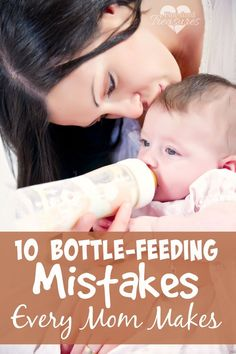 Do moms really make these bottle-feeding mistakes? Yep, they sure do. Some of you may cringe at this list, but it's oh-so-true! Number four is one I have seen moms do time and time again -- without blinking!
